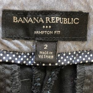 Banana Republic Shorts - 💕NWOT Black Banana Republic Shorts Hampton Fit💕